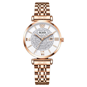Watch Gypsophila Quartz Watch Waterproof Ladies Watch
