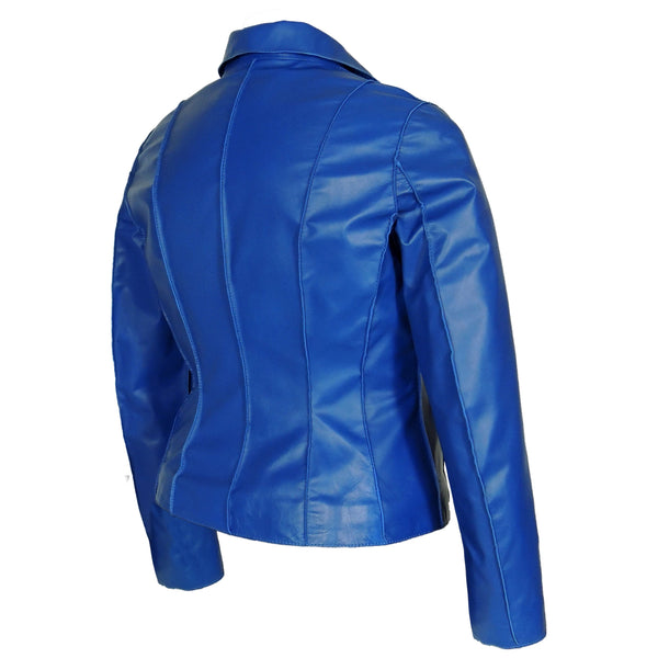 Aaliya Womens Sheepskin Leather Jacket