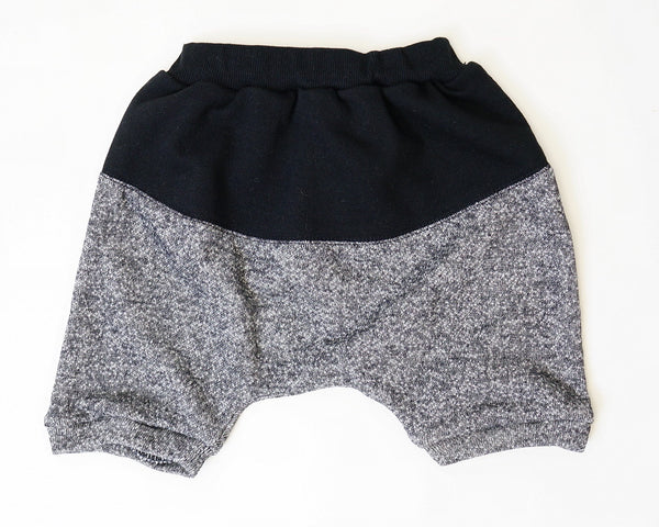 Black and Grey SweatShorts