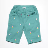 Sailboat Shorts in Green