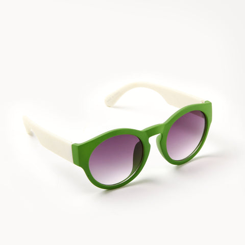 Green Cateye Sunglasses