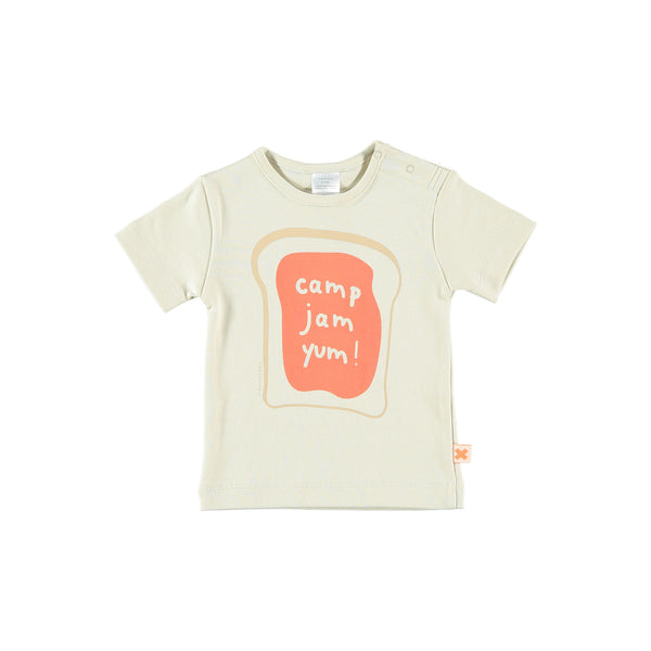 camp, jam, yum ! graphic tee