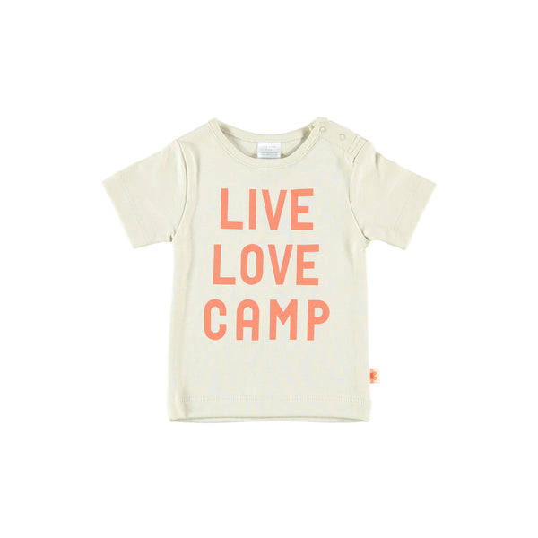live, love, camp graphic tee