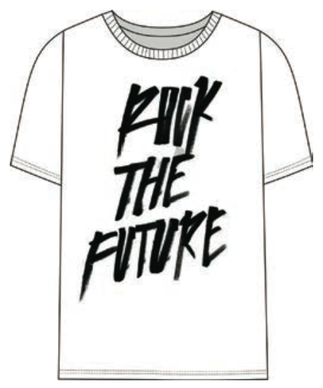 """ROCK THE FUTURE"" Tee"