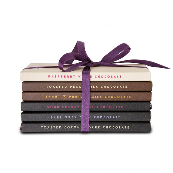 6 Bar Chocolate Library Set