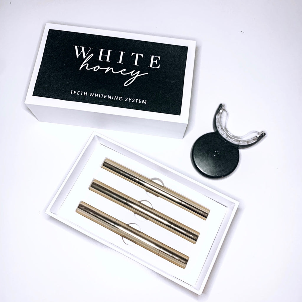 White Honey Home Teeth Whitening System