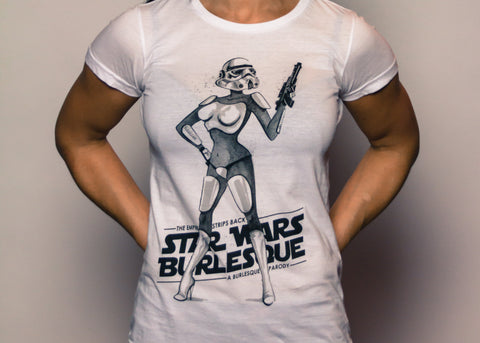 Star Wars Burlesque T-Shirt