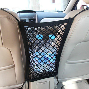 Universal Car Seat Storage Mesh - Crownem
