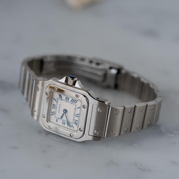 CARTIER Santos Galbee SM Stainless Model