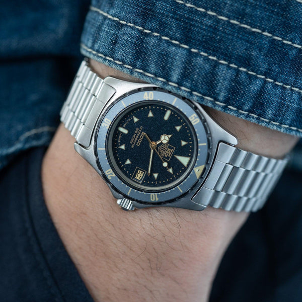 TAG HEUER 2000 Professional 972.613 Moondust Dial