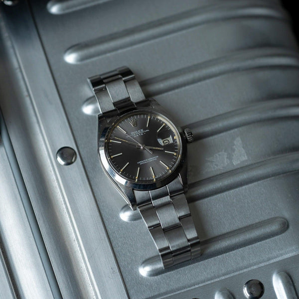 ROLEX Oyster Perpetual Date 1500 Grey Dial