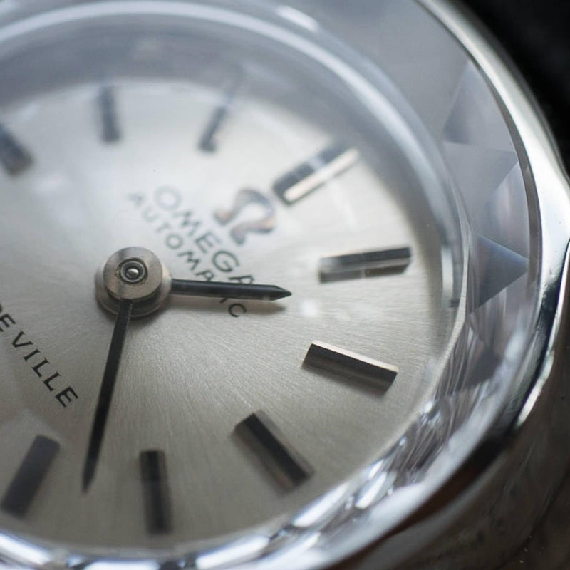 OMEGA De Ville Cut Glass