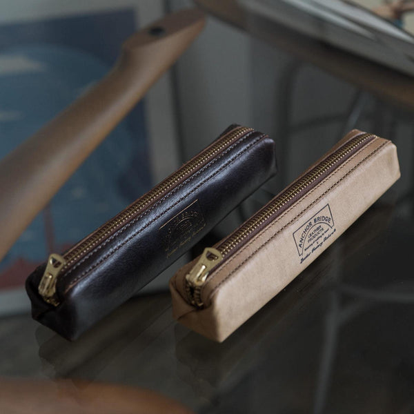 Horween Horse Leather Pen Case