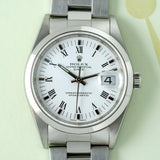 ROLEX Oyster Perpetual Date 15200 White Roman