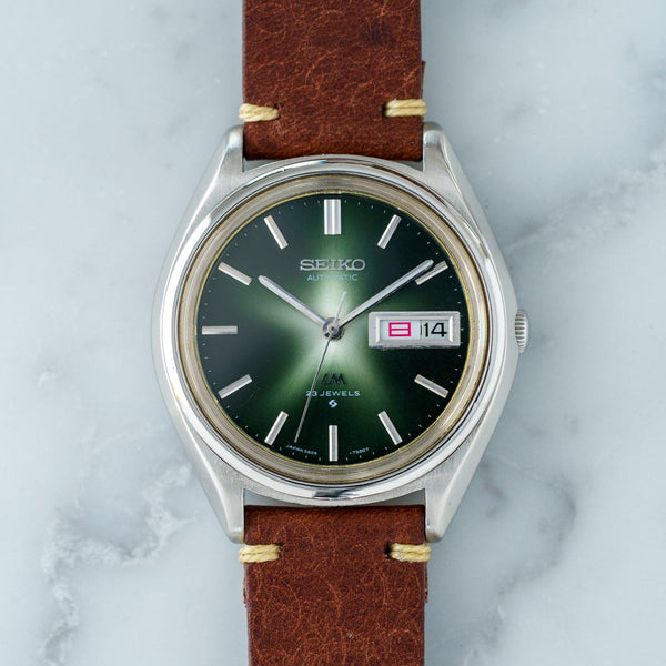 SEIKO Lord Matic 5606-7071 Green Dial