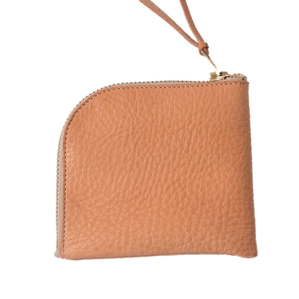 Zip Wallet Embossed Leather Limited Edition (Beige)