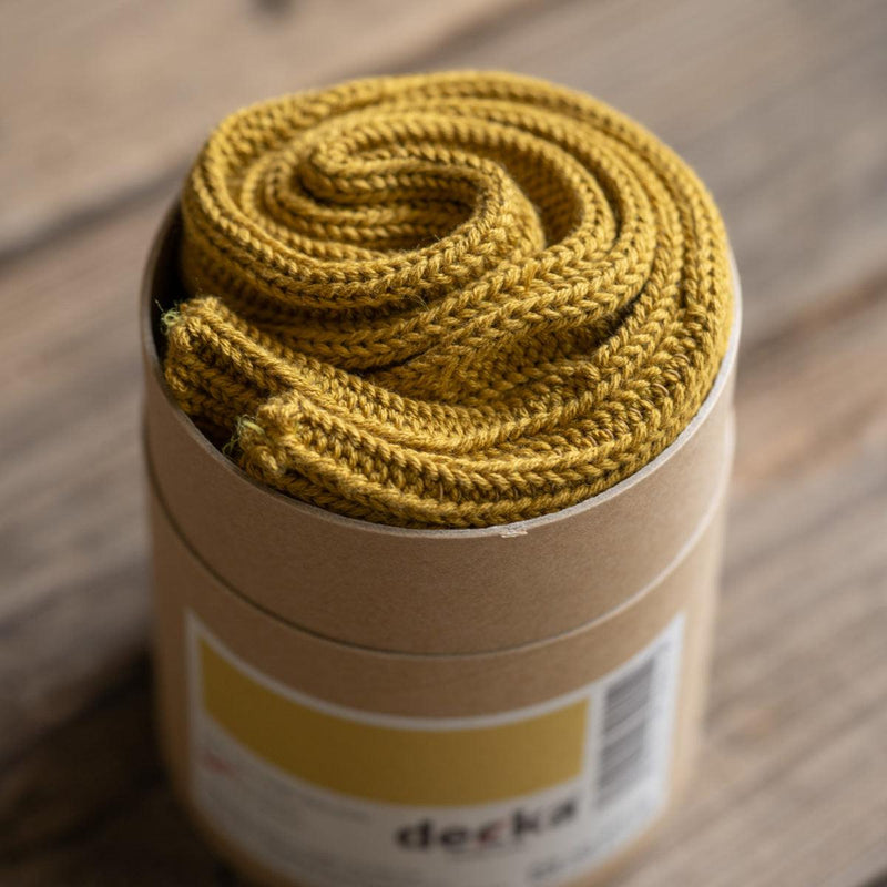 Decka heavy weight plain socks (Yellow)