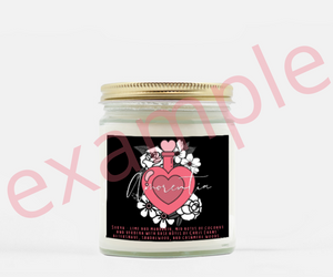 Personalized Amorentia Candle -- Take the Quiz!