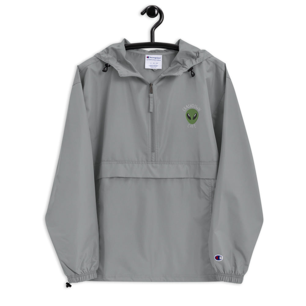 Roswell Crashdown Cafe Embroidered Champion Packable Jacket