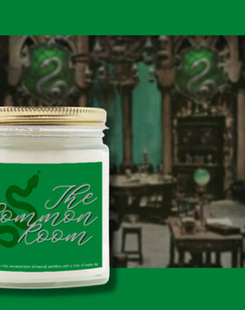 Slytherin Candle Harry Potter Candle Slytherin Common Room