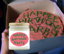 Harry Potter Happee Birthdae Candle