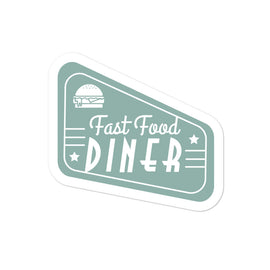 Diner Sign Bubble-free sticker