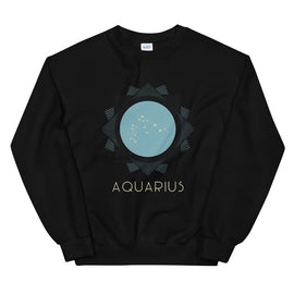 Aquarius Zodiac Constellation Sweatshirt