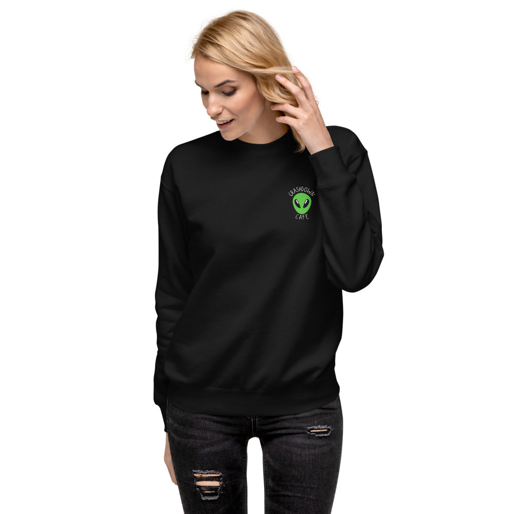 Roswell Crashdown Cafe Unisex Fleece Pullover