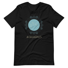 Aquarius Zodiac Constellation T-Shirt