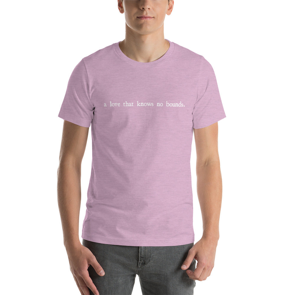 Malec A Love That Knows No Bounds Short-Sleeve Unisex T-Shirt