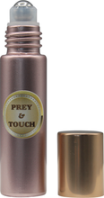 Load image into Gallery viewer, handy easy to use rose gold roll-on bottle prey&touch 10ml