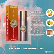 Load image into Gallery viewer, yellow fruits green mandarin cruelty-free musk exclusive pheromone line