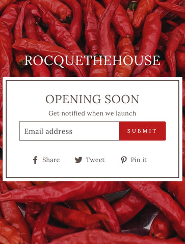 Rocque The House Pepper Jelly New Website made by Abrau Jewelry | Danielle Nicole Enright