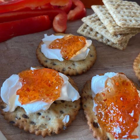 Pepper Jelly Cream Cheese Appetizer   Rocque The House Pepper Jelly