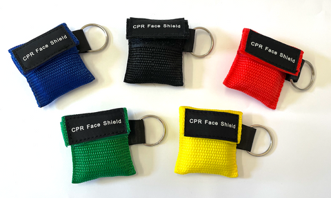 CPR Face Shield - Assorted Colours