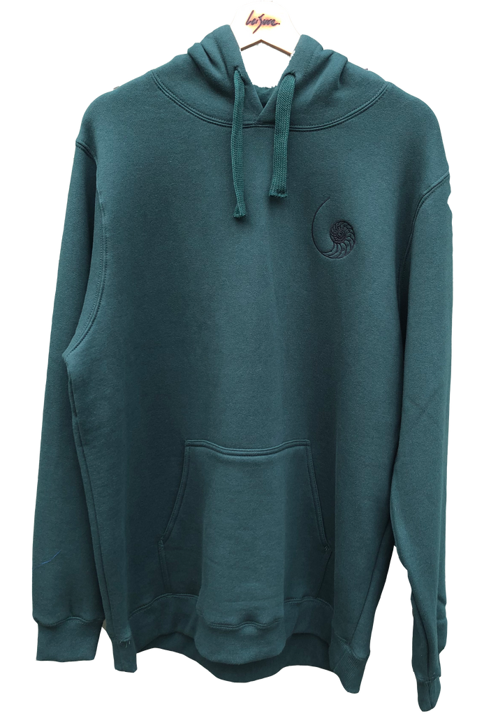 Shell Hoodie Green