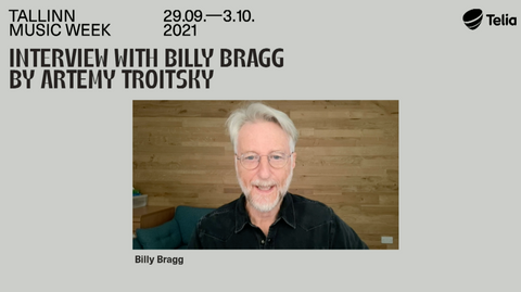 an interview with Singer-songwriter, activist, music historian and writer Billy Bragg.