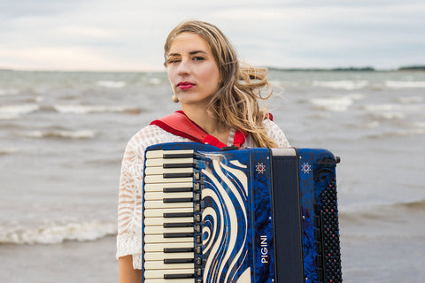 Tuulikki Bartosik an internationally working accordionist, composer & producer -  https://tuulikkibartosik.com, who stressed how important it was for her to be able to tour within the UK and the wider markets.