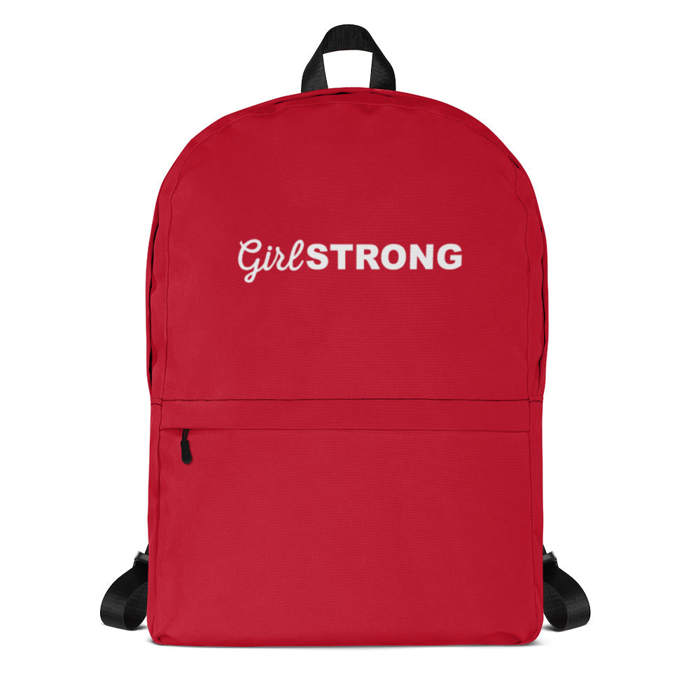 THE ESSENTIAL EVERYWHERE BACK PACK CHERRY RED