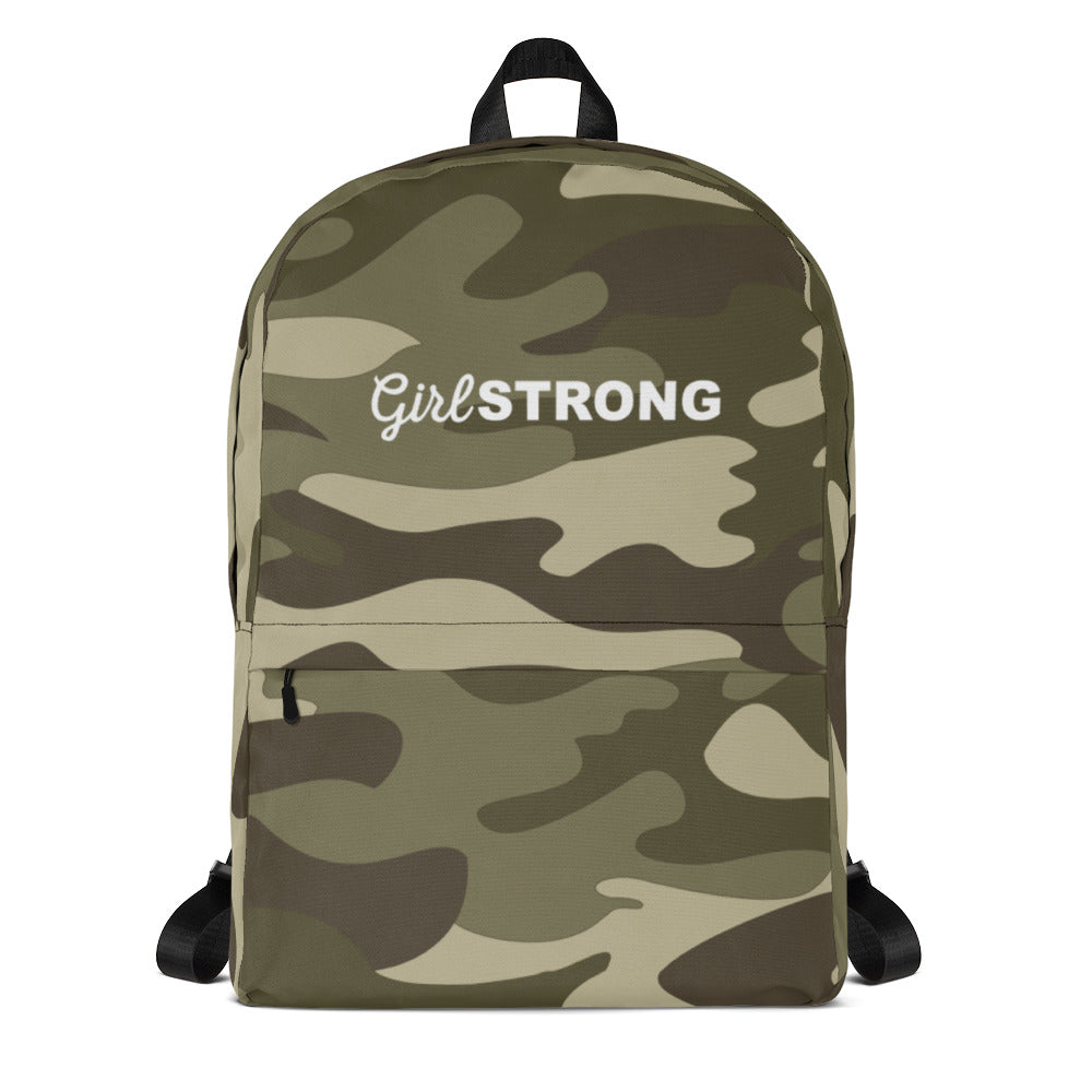 EVERYDAY ESSENTIALS, THE PERFECT BACK PACK GREEN CAMO