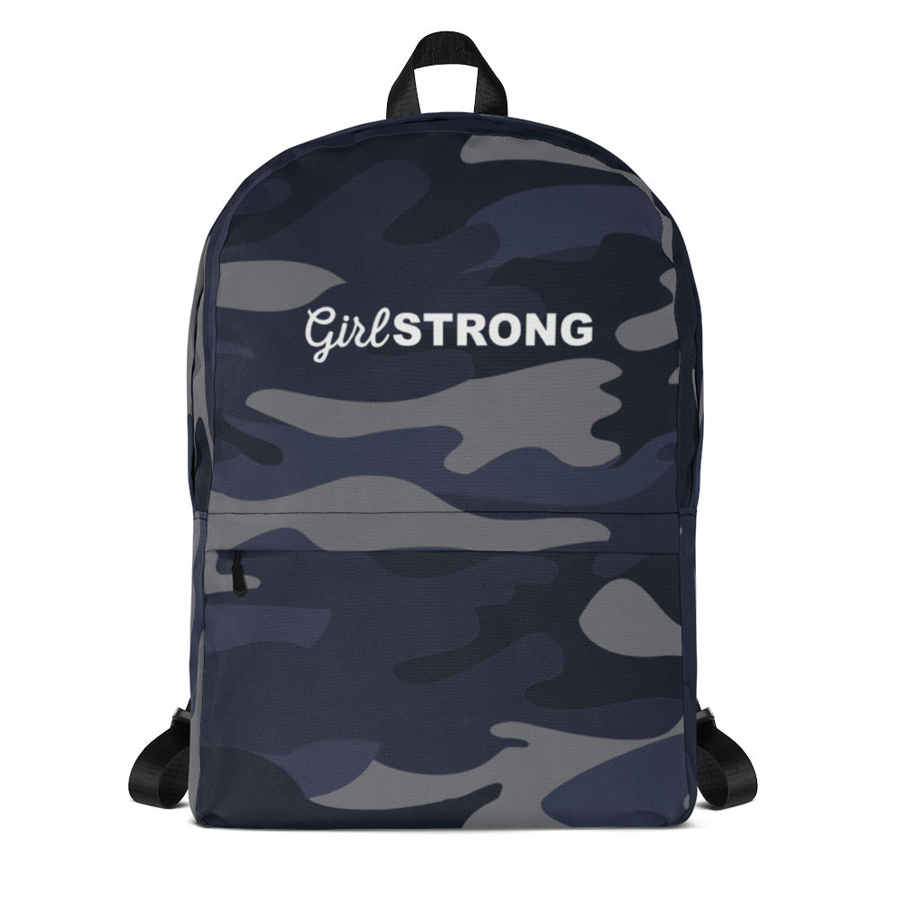 EVERYDAY ESSENTIALS, THE PERFECT BACK PACK NAVY CAMO