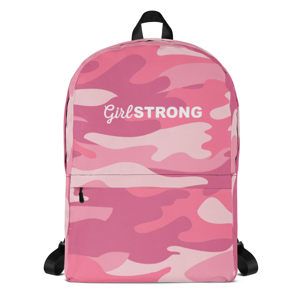 EVERYDAY ESSENTIALS, THE PERFECT BACK PACK PINK CAMO