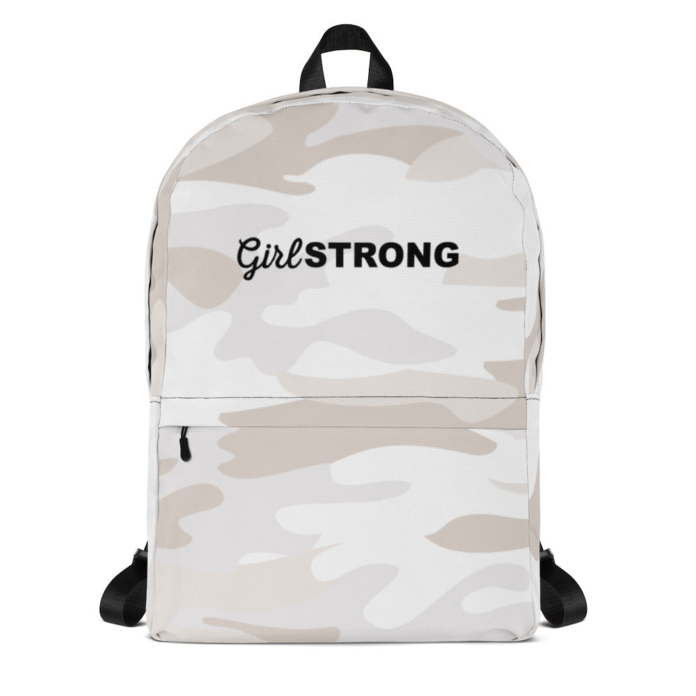 EVERYDAY ESSENTIALS, THE PERFECT BACK PACK WHITE CAMO