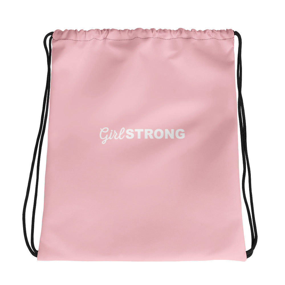 THE ESSENTIAL DRAWSTRING GYM SACK BRIGHT PINK