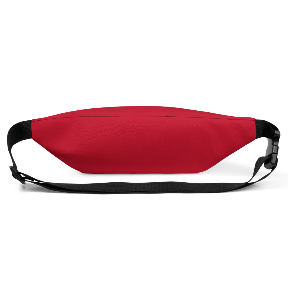THE ESSENTIAL EVERYWHERE BELT BAG CHERRY RED