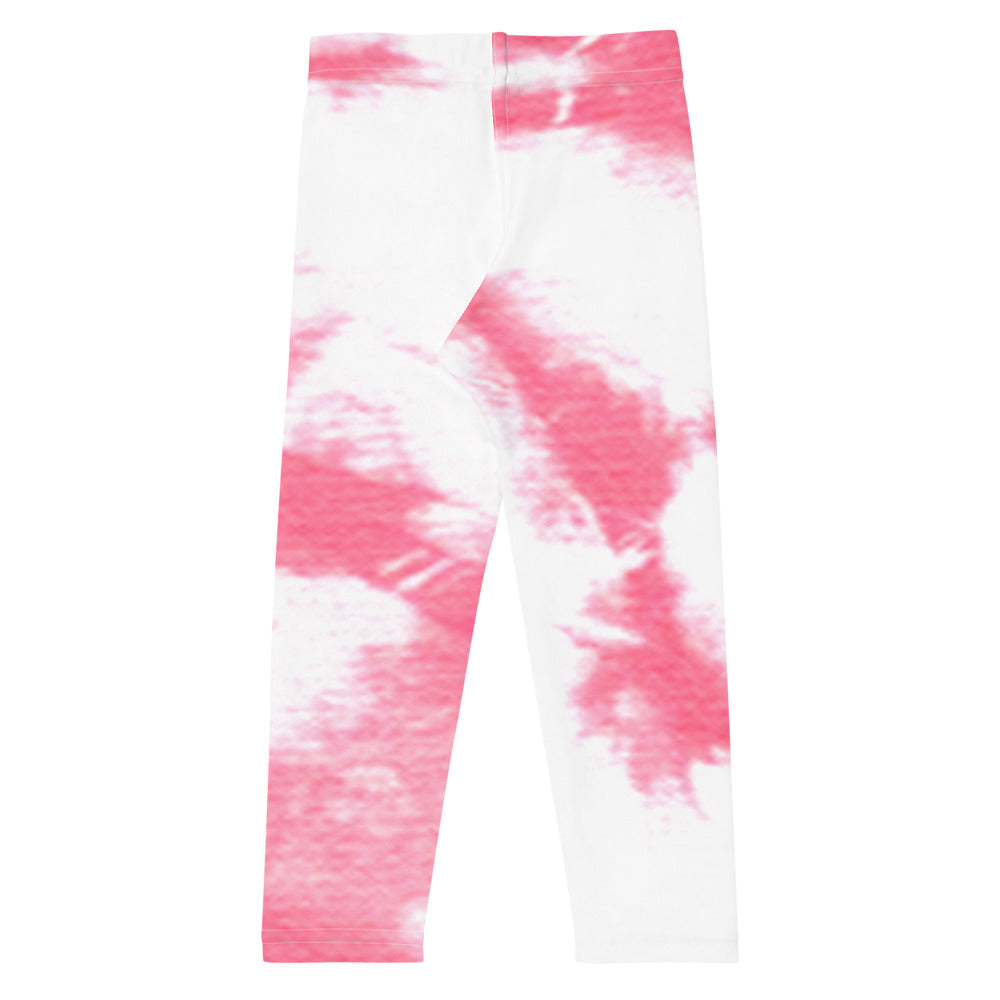 ELEVATED ESSENTIALS, THE PERFECT KID'S LEGGING PINK TIE DYE