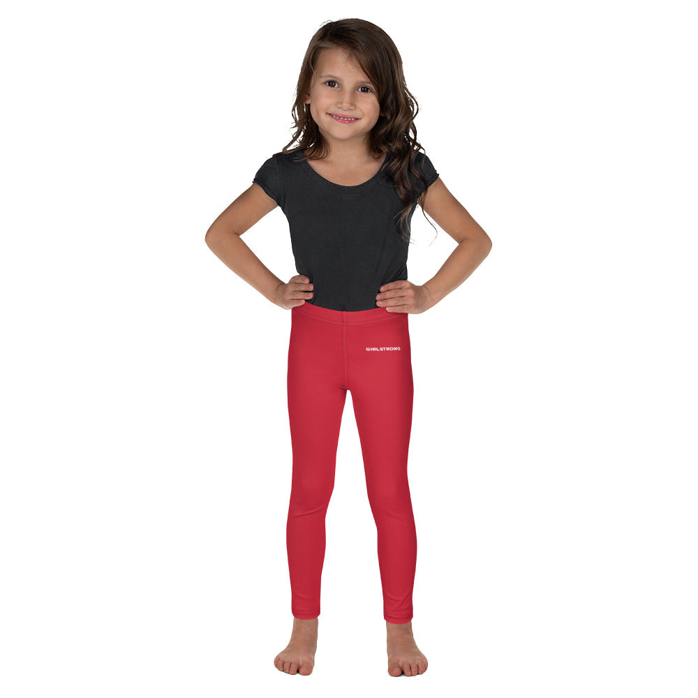 ELEVATED ESSENTIALS, THE PERFECT KID'S LEGGING RED