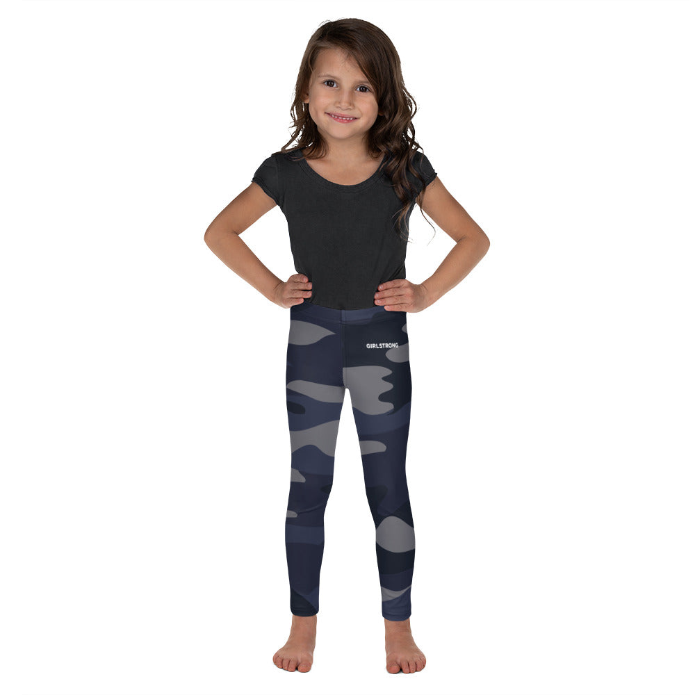 ELEVATED ESSENTIALS, THE PERFECT KID'S LEGGING NAVY CAMO
