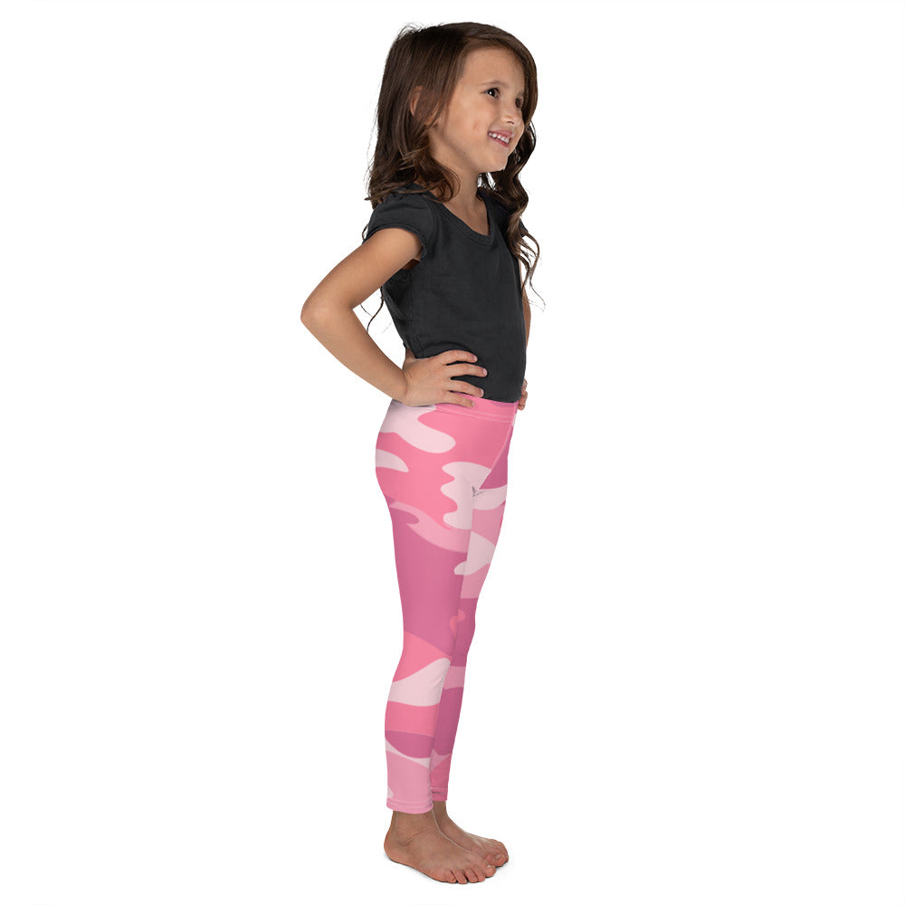 ELEVATED ESSENTIALS, THE PERFECT KID'S LEGGING PINK CAMO