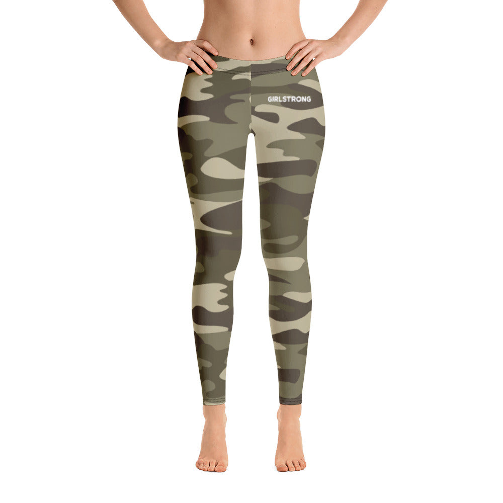ELEVATED ESSENTIALS, THE PERFECT LEGGING GREEN CAMO